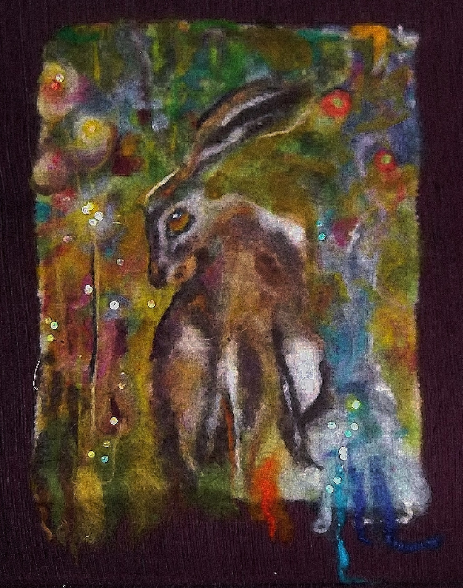sequinned  hare