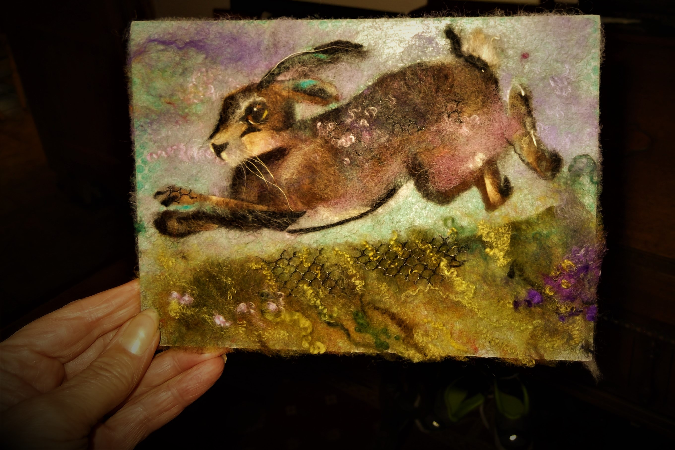 mini running hare